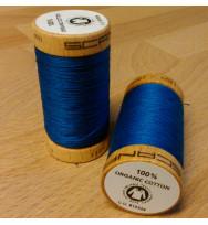 Nähgarn Bio-Baumwolle 100 m - 4817 königsblau