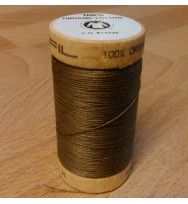 Nähgarn Bio-Baumwolle 100 m - 4824 graubraun
