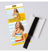Nahtband flexibel T15 schwarz - 5 m