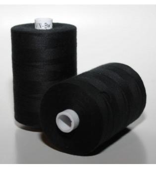 Nähgarn Bio-Baumwolle 1000 m - 1 schwarz