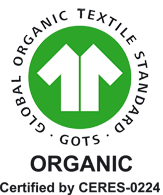 GOTS Zertifikat - CERES-0224 - Biostoffe.at